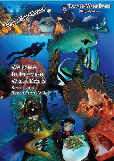 Tulamben Wreck Divers Information Booklet